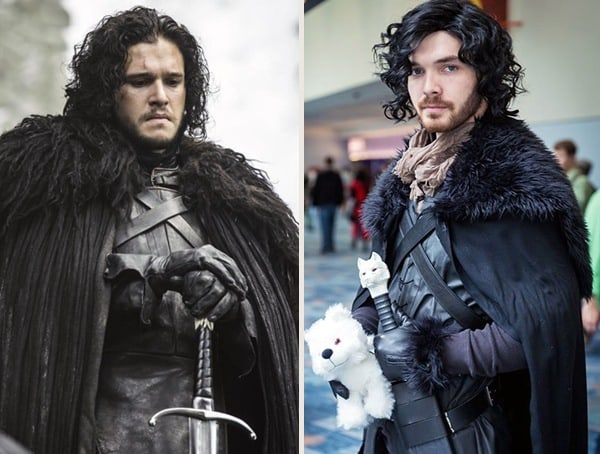 Halloween Costume Idea For Men Jon Snow Game Of Thrones