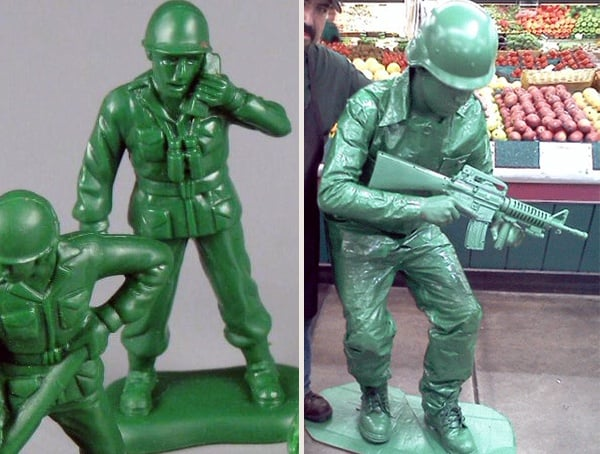 Best Cool Halloween Costumes For Men Toy Solider