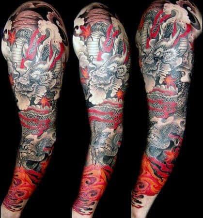 Best Dragon Tattoos For Men