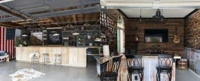 Top 50 Best Garage Bar Ideas – Cool Cantina Workshop Designs