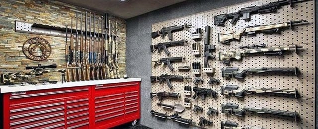 Top 100 best gun room designs armories you ll want for Gun room design