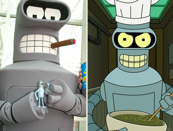 Best Halloween Costumes For Men Bender Futurama