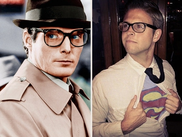 Best Halloween Costumes For Men Clark Kent Superman