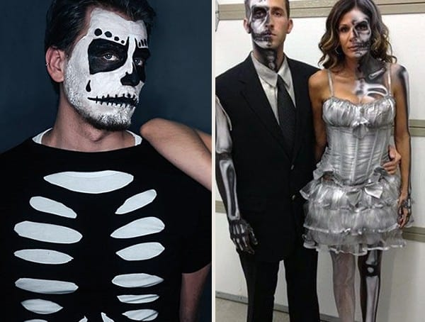 best halloween costumes for men skeleton