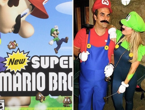 Best Halloween Costumes For Men Super Mario Brothers Mario Luigi