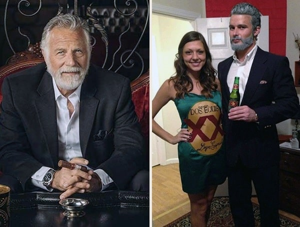 best halloween costumes for men with beards the most interesting man in the world