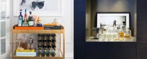 Top 70 Best Home Mini Bar Ideas – Cool Beverage Storage Spots