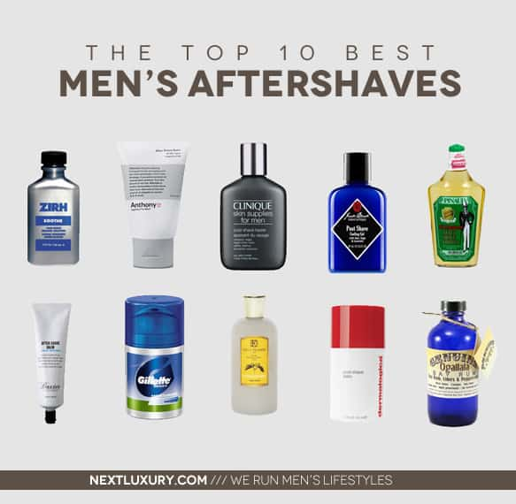 Best Men's Aftershave 2013