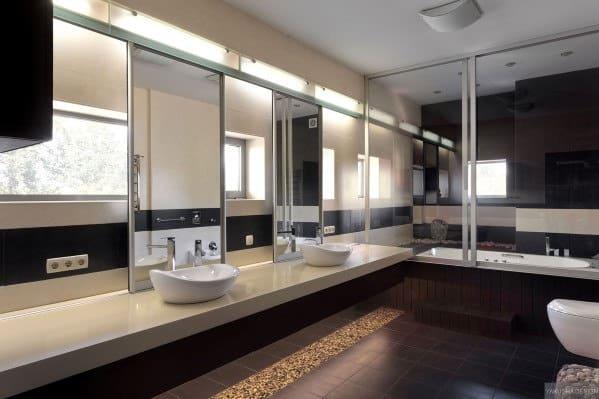 Black Shower Ideas Bathroom