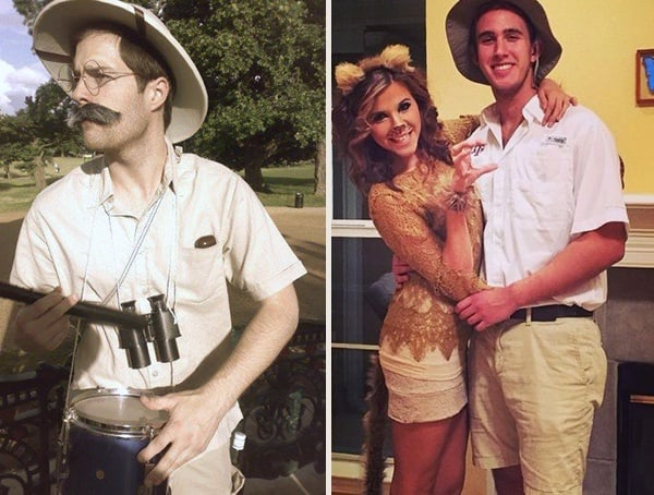 Best Mens Halloween Costumes Safari Hunter