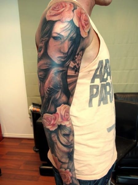 Best Men's Sleeve Tattoos