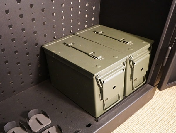 Best Security Gun Cabinet 50 Cal Ammo Storage Cans