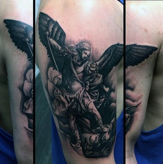 Best St Micheal Tattoo For Males