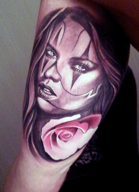 Rose Best Tattoo Designs For Men On Arms