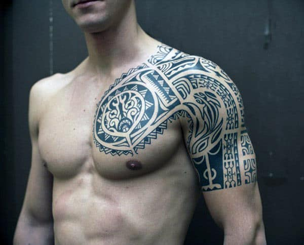 70 Quarter Sleeve Tattoo Designs For Men Masculine Ink Ideas