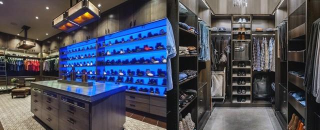 Top 100 Best Closet Designs For Men – Masculine Walk-In Wardrobe Ideas