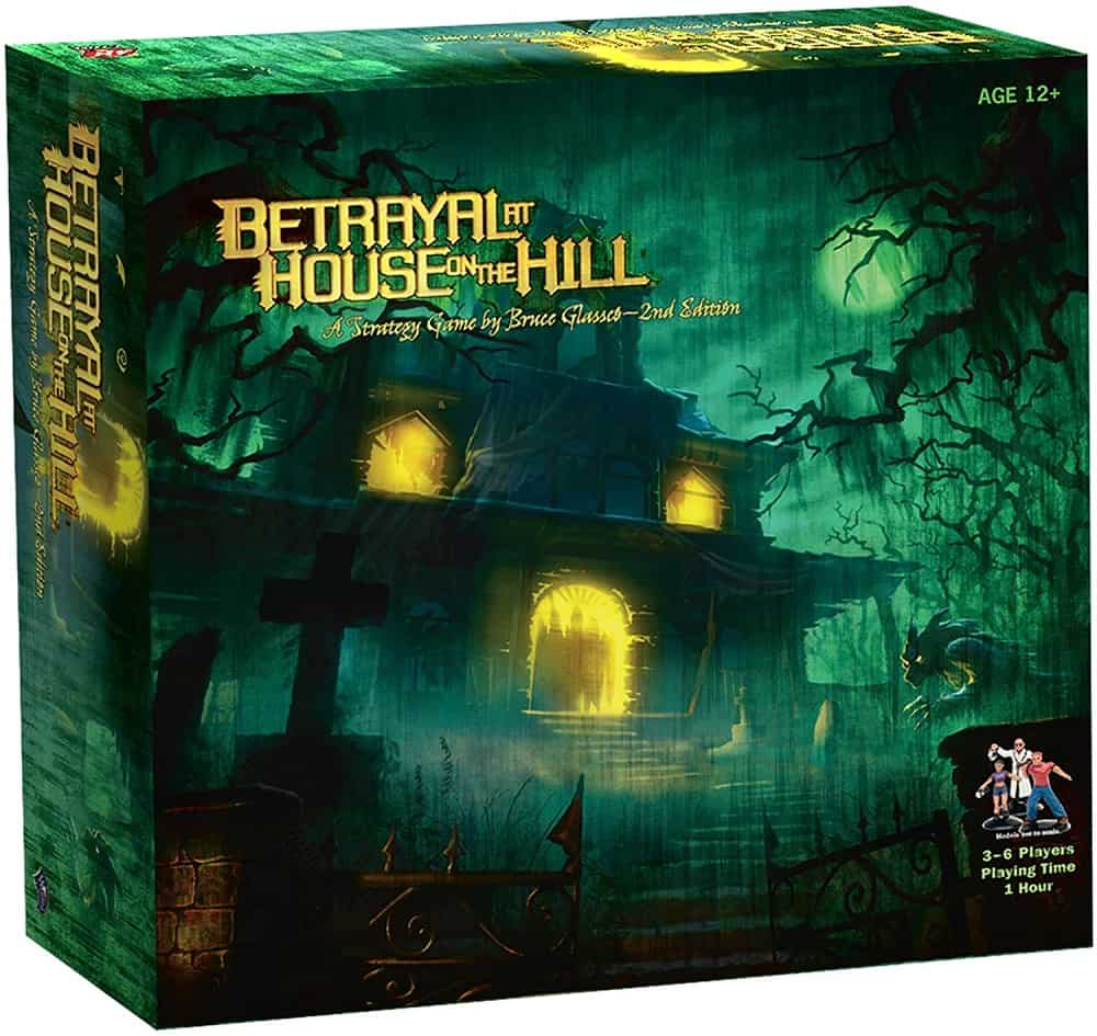 avalon hill betrayal at house on the hill adult board game