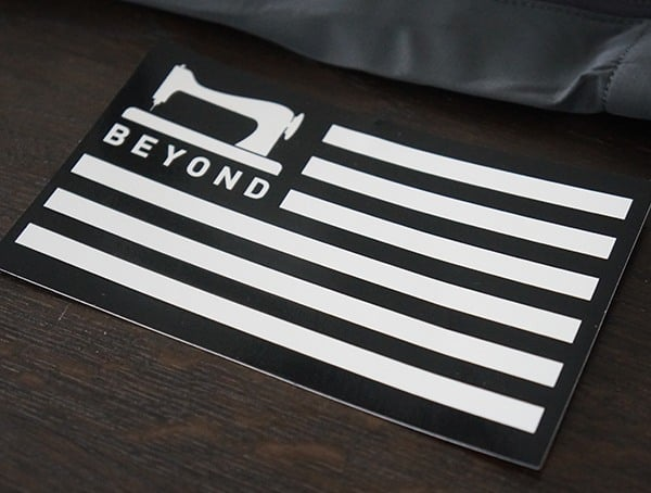 Beyond Clothing American Flag Sticker