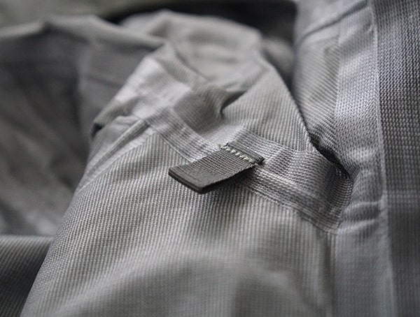 Beyond Clothing K6 Arx Rain Jacket Cord Routing Loop On Interior