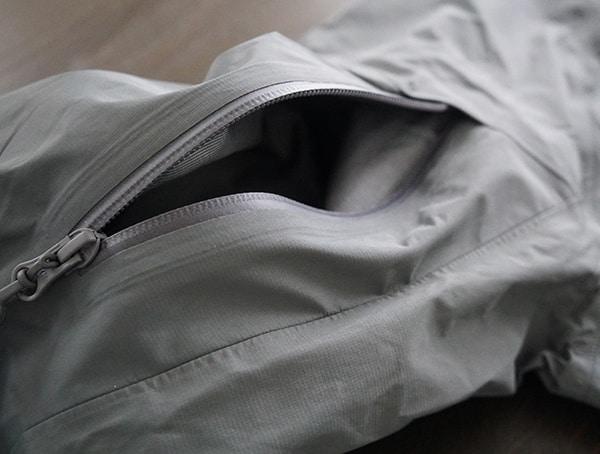 Beyond Clothing K6 Arx Rain Mens Jacket Arm Pocket Open