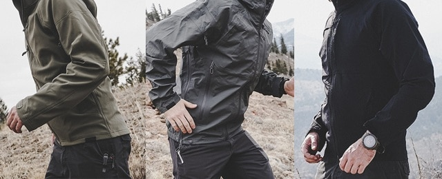 Beyond Clothing Men's Arx Rain, Softshell Testa and Velox Jackets Review