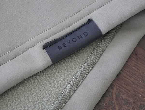 Beyond Clothing Mens Testa Softshell Jacket Brand Detail On Hem