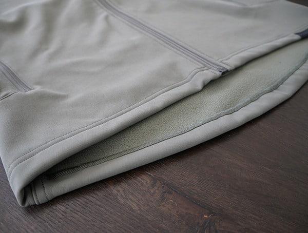 Beyond Clothing Testa Softshell Jacket For Men Hem Detail