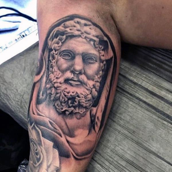 Bicep Guys Hercules Tattoo Ideas