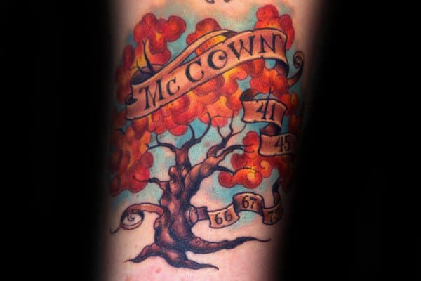 Top 59 Family Tree Tattoo Ideas 2020 Inspiration Guide