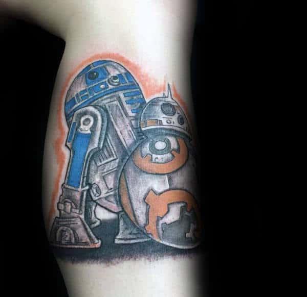 Bicep Male Rd2d Tattoo Isnpiration