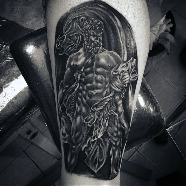 Bicep Mythology Zeus Tattoos For Males