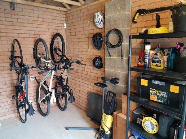 Bicycle Garage Storage Ideas