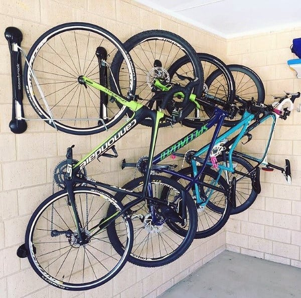 Bicycle Racks For Garage Storage