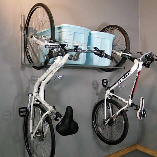 Bicycle Storage Hooks Garage Ideas