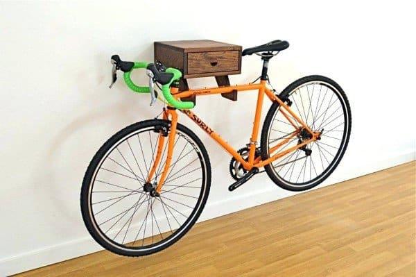 Bicycle Storage Hooks Ideas