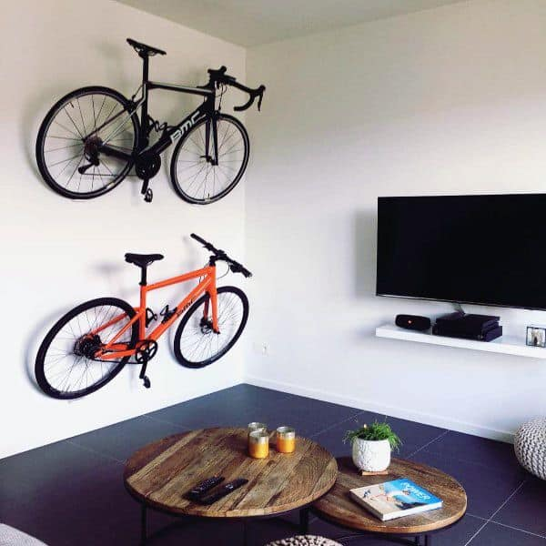 Bicycle Storage Rack Wall Mount