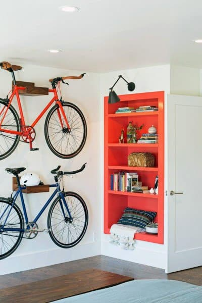 Bicycle Storage Stand Ideas