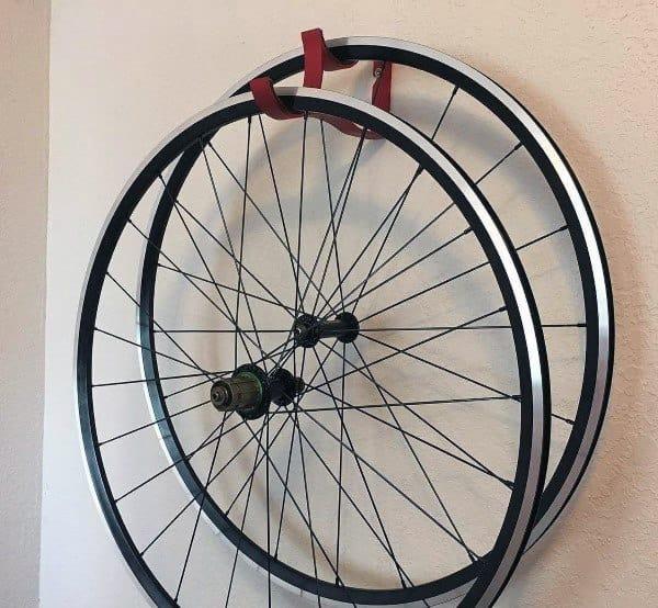 Bicycle Wheel Storage Rack