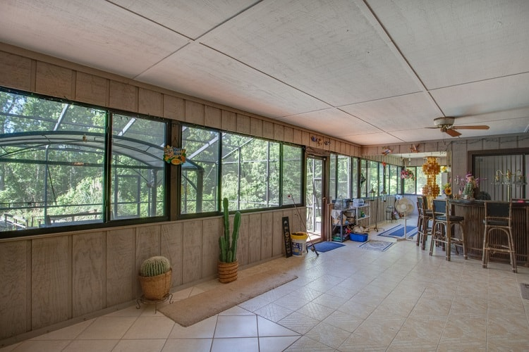 Big Arizona Room Screened In Porch