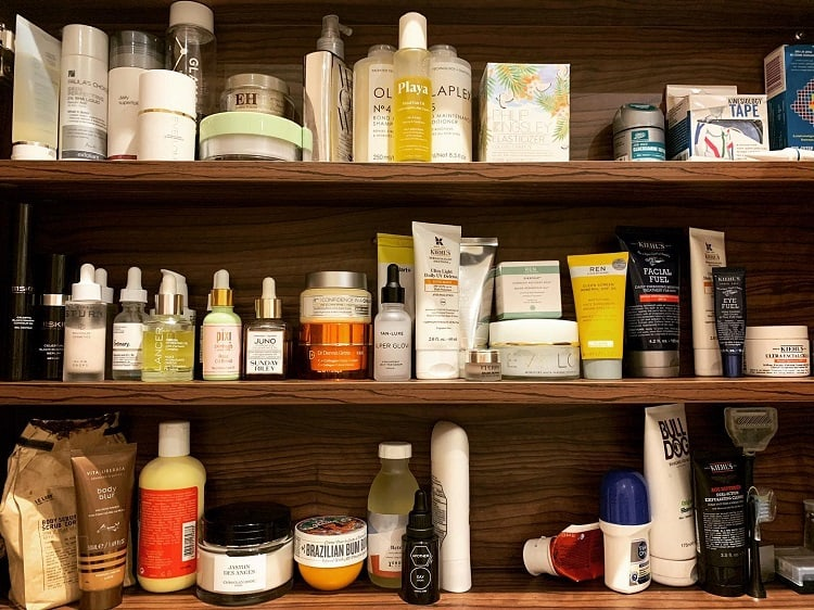 Big Bathroom Toiletries Shelf Hamiltonhouse London