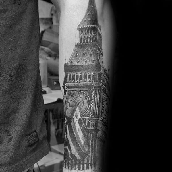 Big Ben Tattoos Men