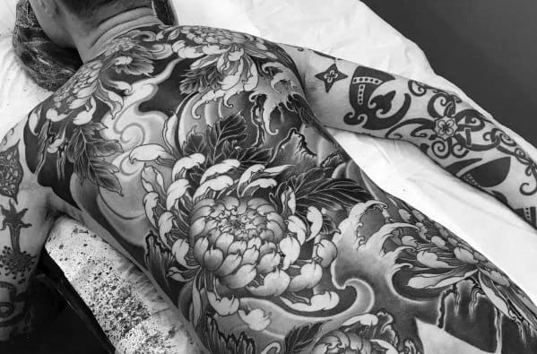 Big Japanese Full Body Tattoo Designs