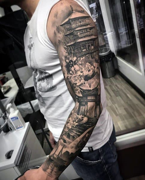90 big tattoos for men giant ink design ideas. Black Bedroom Furniture Sets. Home Design Ideas