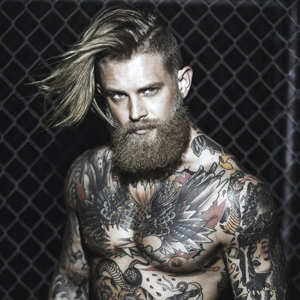 Big Male Beard Style Ideas