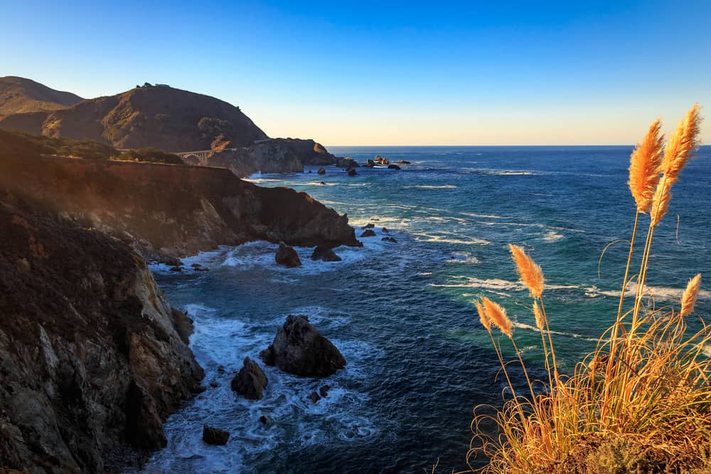 big sur coast california usa