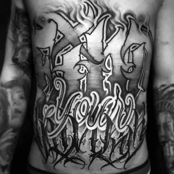 Big Tattoo Design Ideas For Men
