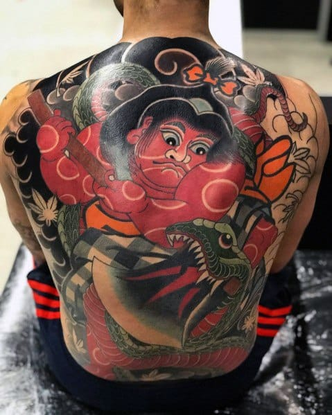 Big Tattoos For Men