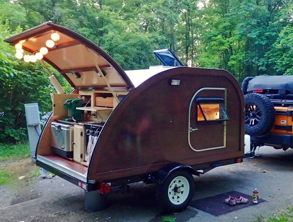 Big Woody Campers Off Road Camper