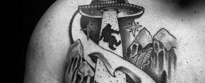 50 Bigfoot Tattoo Designs For Men – Mythological Creature Ink Ideas