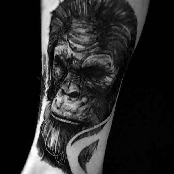 Bigfoot Tattoo Ideas For Males